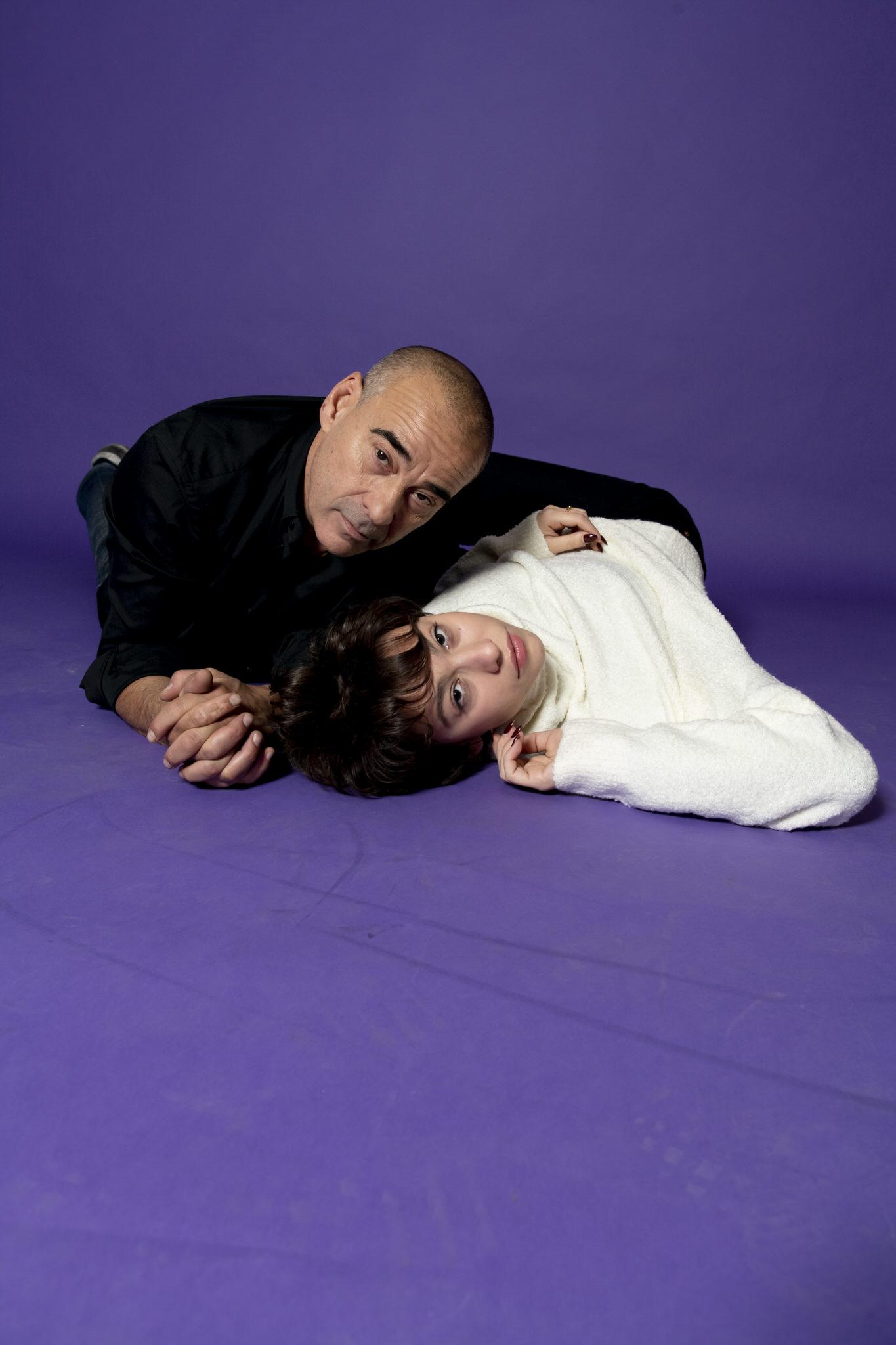 Greta y Eduard Fernández